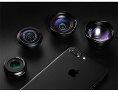 4 in 1 Cell Phone Camera Lens Kit 14 Mobile Camera Lens, Mobile Lens, Best Camera Lenses, Moment Lens, Iphone Lens, Wide Angle Lens, Types Of Cameras, Zoom Lens, Smartphone