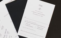 Reply card - good way to capture shuttle, ceremony, reception and after party