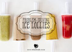 Not only are ice lollies refreshing in our hot South African summers, but they can also be a nutrient-dense snack. They tend solve a number of little problems for me! Online Advent Calendar, Ice Lolly Recipes, Dairy Free, Gluten Free, Advent Calenders, Christmas Recipes, Problem Solving, Thrift, Allrecipes