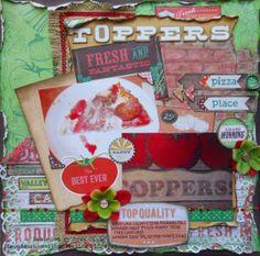 Toppers ~ FotoBella DT - Scrapbook.com