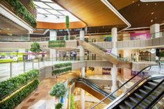 Chongqing Metro Park Aims in Becoming an Iconic Landmark Development & Destination Urban Hub Shopping Mall Interior, Shopping Malls, Mall Design, Commercial Interiors, Shopping Center, Atrium, Ceiling Design, Skylight, Restaurant Design