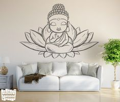 Discover recipes, home ideas, style inspiration and other ideas to try. Buddha Drawing, Doodle Art Drawing, Buddha Painting, Buddha Art, Mandala Drawing, Art Drawings Sketches, Aztec Drawing, Mandala On Wall, Arte Ganesha