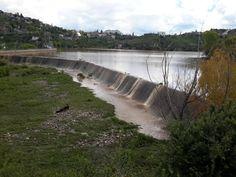 Después de las lluvias torrenciales la Presa Chuvíscar empieza a derramar…