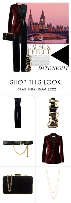 """Date Night: Jumpsuit Style"" by martso ❤ liked on Polyvore featuring moda, Envi, Balmain, Giuseppe Zanotti, Chanel, Emilio Pucci, MICHAEL Michael Kors, Jennifer Zeuner, DateNight e contestentry"