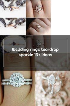 Wedding rings teardrop sparkle 19+ ideas Wedding Rings Teardrop, Sparkle, Engagement Rings, Ideas, Jewelry, Enagement Rings, Wedding Rings, Jewlery, Jewerly