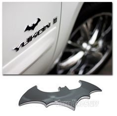 Batman 3 D Chrome Metal Auto Emblem New Super Hero Car Decal Sticker