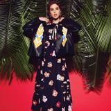 Tropico Floral: Anais Pouliot by Jason Kim for Vogue Mexico April 2016 - Miu Miu Spring 2016 jacket