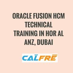 best oracle training institutes: Oracle Fusion HCM Technical Training in Hor Al Anz. Search Engine, Dubai, Engineering, Training, Mechanical Engineering, Technology, Exercise, Workouts, Physical Exercise