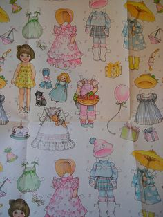 I think I actually had some gifts wrapped in this paper as a girl by *amber e*, via Flickr