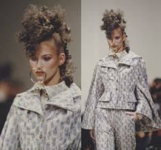 1994-95 - Vivienne Westwood show - Kate Moss
