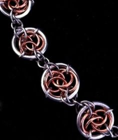 Celtic Circles #chainmaille