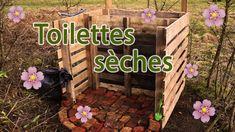 Compost pour toilettes sèches à partir de palettes Palette, Outdoor Decor, Youtube, Composters, Toilets, Home Ideas, Pallets, Youtubers, Youtube Movies