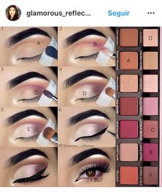 anastasia beverly hills modern renaissance tutorial by pauline Make-up is a process that delivers an Makeup 101, Makeup Goals, Skin Makeup, Makeup Inspo, Makeup Inspiration, Eye Makeup Tutorials, Makeup Eyeshadow, Eyeshadow Tips, Makeup Hacks
