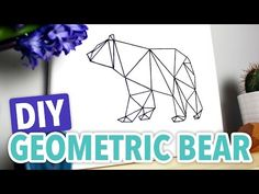 Our pal Meg Allan Cole gives string art a charming modern-meets-rustic twist in her new geometric bear string art video tutorial.
