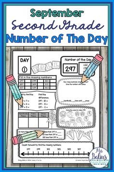 Number Sense Place Value Number of the Day Fall/Back to School Number Sense Activities, Math Activities, Math Games, Teaching Math, Teaching Resources, Kindergarten Math, Teaching Ideas, Daily Number, School Places