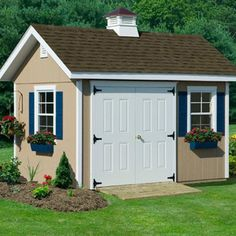 Homeplace Studio 8' W x 12' D Wood Garden Shed