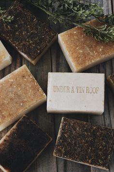 New Herbal Soap in the Shop! — Under A Tin Roof