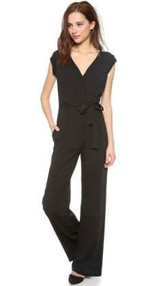 OTTE NEW YORK Solid Jumpsuit| selected by jamesdrygoods.com for the made in america: contemporary project | #madeinusa |