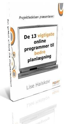 De 13 vigtigste online programmer til bedre planlægning. Gratis e-bog fra Projektledelsen