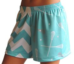 Sublimated Sportabella Chevron Loose Short AQUA. $30 on our website!