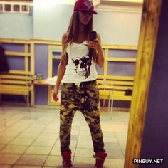 cool army jeans - PinBuy