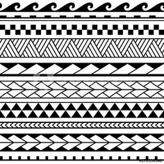 Armband Tattoos, Tribal Forearm Tattoos, Armband Tattoo Design, Sleeve Tattoos, Band Tattoo Designs, Polynesian Tattoo Designs, Maori Tattoo Designs, Bracelete Tattoo, Tattoo Bracelet