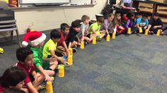 Trepak song from the Nutcracker with cup activity