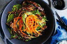 A hearty Korean dish. Simple yet flavourful, bibimbap is a warming dish for the cooler months.
