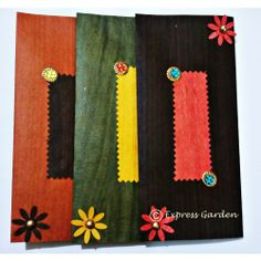 Shagun Envelopes / Money Envelopes- Wood Textured Collection