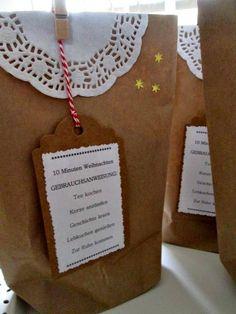15 Minuten Weihnachtstüte | weihnachten in der Tüte ...