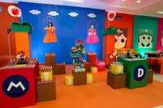 Encontrando Ideias: Festa Mario Bros!!!