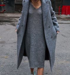Grey Outfit Inspiration | Studded Hearts