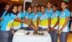 The Indian Senior Women Hockey Team, all geared up and ready to take on the challenges in the upcoming Commonwealth Games 2014, headed-off to Edinburgh (Scotland) from New Delhi, today morning.