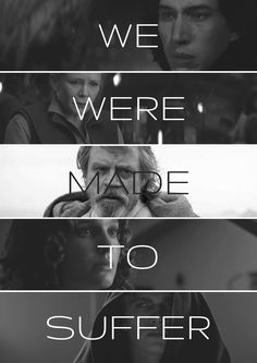 """We were made to suffer"" // A Skywalker Tragedy"