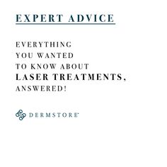 Dermatologist Answers: Which Laser Treatment Is Right for Me?