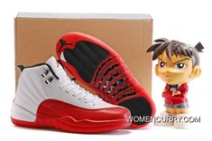 c8ce25c02660 2018 Authentic Jordans Retro 12 XII Dark Red White Basketball Shoe for Men
