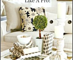 HOW TO BUILD A PILLOW COLLECTION LIKE A PRO- It's not magic or rocket science to create beautiful pillow arrangements. I'll show you how!