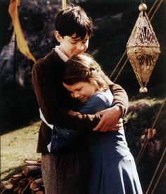 Narnia! That precious moment when lucy doesn't even hesitate to forgive, then forget, and welcome edmund home.