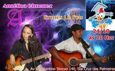Ermes Le Fou - O Som De Minha Arte: 24/10/14  Chicken House - Sta Cruz das Palmeiras S...