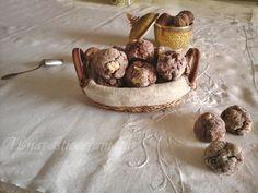 Biscotti con albumi noci e cacao - senza burro, come riutilizzare gli albumi avanzati per fare un biscotto buono e salutare.