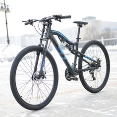(337.18$)  Watch now - http://ai6z3.worlditems.win/all/product.php?id=32800546857 - hot wolf 29 inches bicycles Aluminum alloy 24 speed soft-tail frame non-folding mountain bike 19 inch bike frame  for tall man