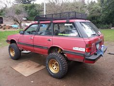 Photo: Uploaded from the Photobucket Android App. This Photo was uploaded by Subaru 4x4, Subaru Forester Lifted, Subaru Outback Offroad, Lifted Subaru, Subaru Baja, Lifted Cars, Toyota Lift, Toyota Tercel, Toyota Hilux