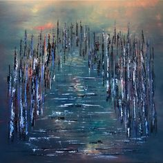 Hjem - Sissel Lunde Waves, Painting, Outdoor, Abstract, Art, Outdoors, Painting Art, Paintings, Outdoor Games