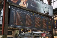 Gare de Lyon departure board | Flickr - Photo Sharing!