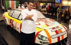 Ginormous Nascar cake from the TLC show Cake Boss. So cool, and I bet it tastes awesome too!    - emcblue.com