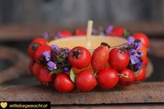 Süße Herbstdeko aus Naturmaterialien basteln - www.mitliebegemacht.at