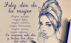 Find images and videos about empoderamiento and dia de la mujer on We Heart It - the app to get lost in what you love. Wife Quotes, Woman Quotes, Thought Pictures, Honesty And Integrity, Happy Wishes, Funny Phrases, Mocca, Spanish Quotes, Ladies Day