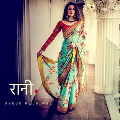Saris by Ayush Kejriwal or purchases email me at designerayushkejriwal@hotmail.com or what's app me on 00447840384707 We ship WORLDWIDE. Instagram - designerayushkejriwal