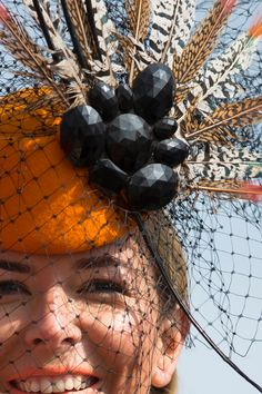 In Photos: It's all about the fashion on Ladies Day at the 2015 Crabbie's Grand National Festival at Aintree Racecourse in Liverpool, England.