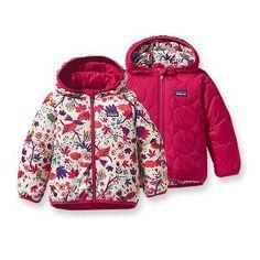 Patagonia Baby Reversible Puff-Ball Jacket